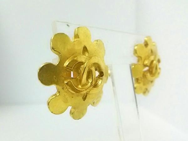 CHANEL(シャネル) イヤリング 金属素材 ゴールド ココマーク 3