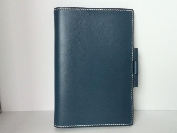 HERMES(エルメス) 手帳 アジェンダGM ブルータラサ ボックスカーフ 0