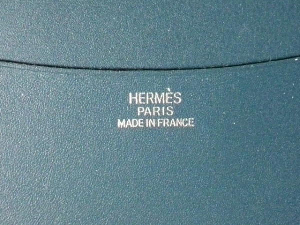 HERMES(エルメス) 手帳 アジェンダGM ブルータラサ ボックスカーフ 4