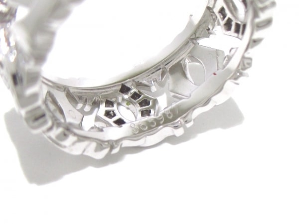 カルティエ リング 50美品  アントルラセ ハーフダイヤリング 5