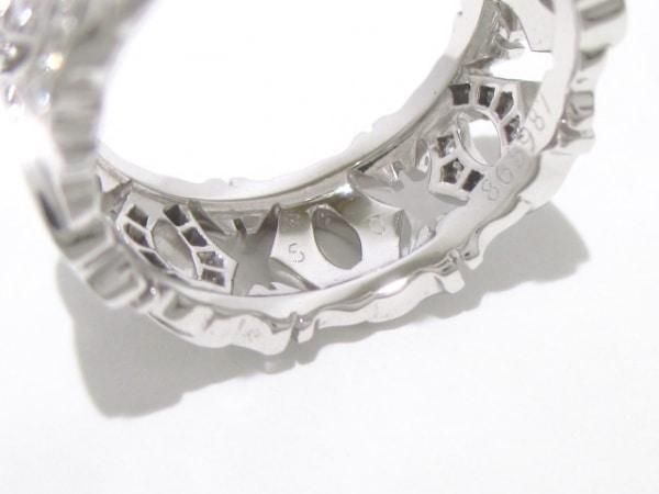 カルティエ リング 50美品  アントルラセ ハーフダイヤリング 6
