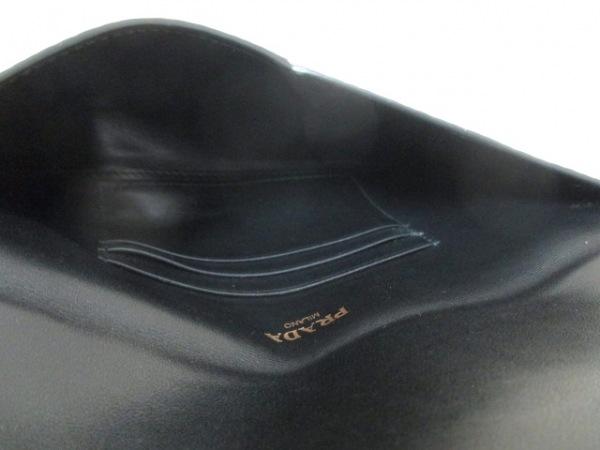 PRADA(プラダ) 札入れ美品  - 1MF175 黒 レザー 4