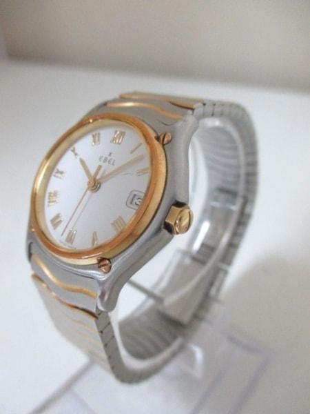 エベル 腕時計美品  クラシックウェーブ 1087121 レディース 白 2