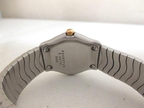 エベル 腕時計美品  クラシックウェーブ 1087121 レディース 白 3