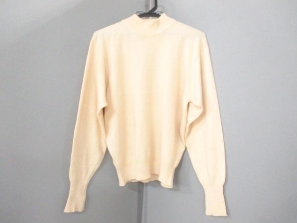 HERMES(エルメス) 長袖セーター サイズM レディース美品  ベージュ 0