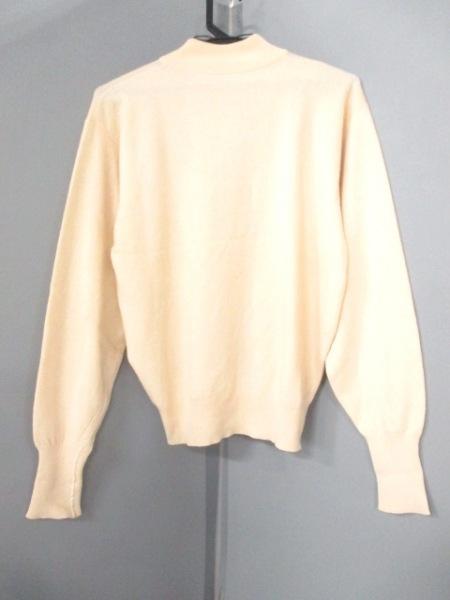HERMES(エルメス) 長袖セーター サイズM レディース美品  ベージュ 2