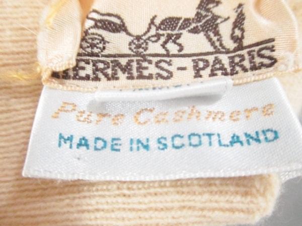 HERMES(エルメス) 長袖セーター サイズM レディース美品  ベージュ 4