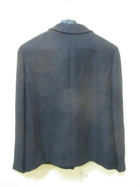 シャネル ジャケット サイズ44 L レディース美品  黒 ココマーク 2