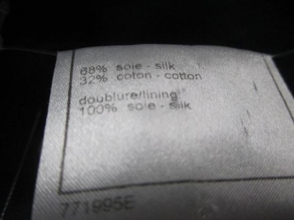 シャネル ジャケット サイズ44 L レディース美品  黒 ココマーク 4