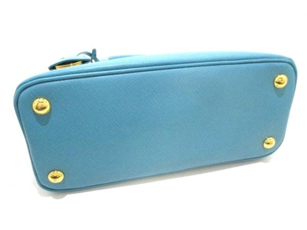 PRADA(プラダ) ハンドバッグ - ターコイズブルー サフィアーノレザー 4