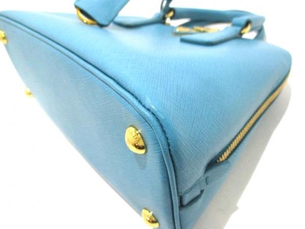 PRADA(プラダ) ハンドバッグ - ターコイズブルー サフィアーノレザー 7