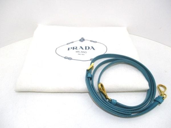PRADA(プラダ) ハンドバッグ - ターコイズブルー サフィアーノレザー 9