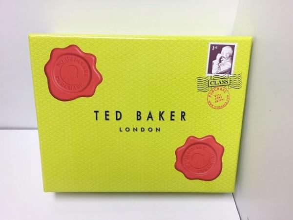 テッドベイカー 3つ折り財布 ピンク がま口/ラインストーン 7