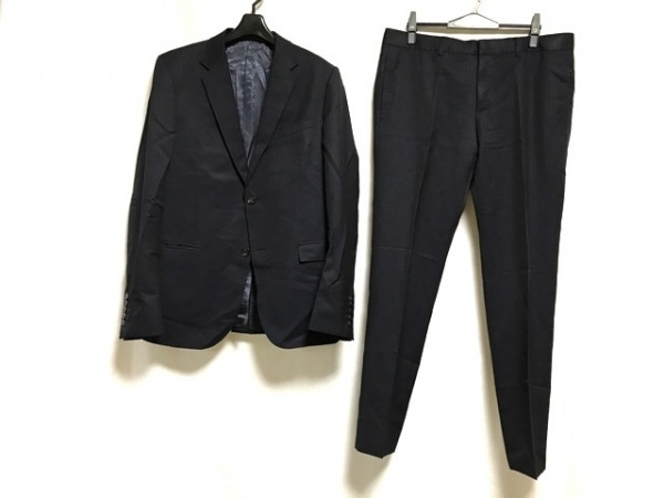 GUCCI(グッチ) シングルスーツ サイズ50R メンズ ネイビー 0
