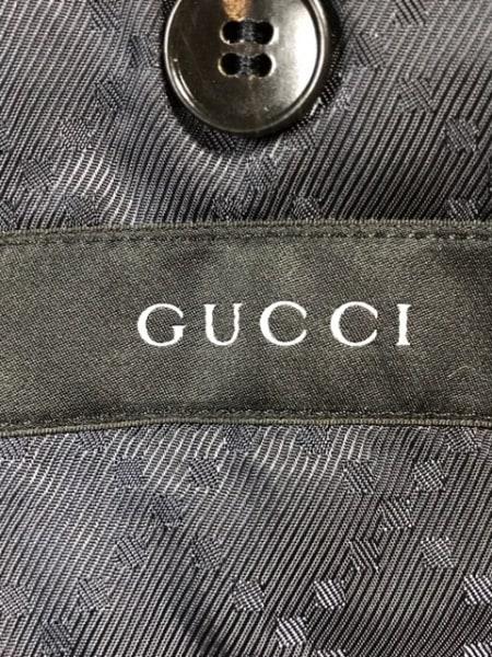 GUCCI(グッチ) シングルスーツ サイズ50R メンズ ネイビー 3