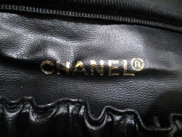 CHANEL(シャネル) バニティバッグ キャビアスキン 黒 キャビアスキン 6