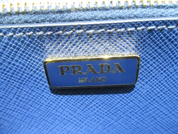 PRADA(プラダ) 財布美品  リボン BT1009 ネイビー×ブルー 4