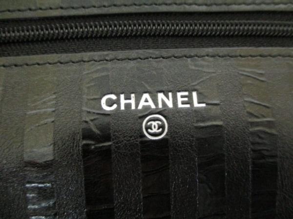 CHANEL(シャネル) 財布 マトラッセ/2.55 黒 レザー 4