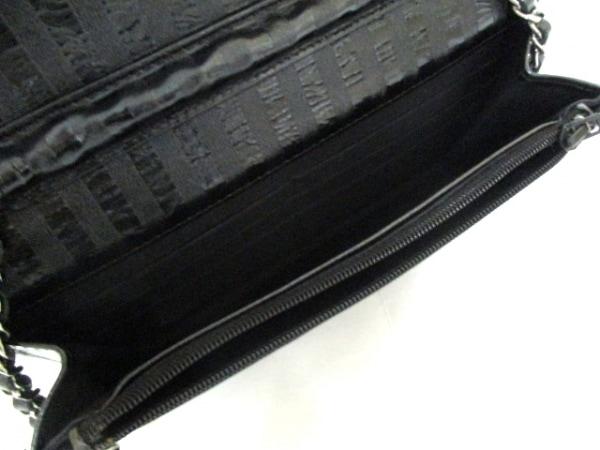 CHANEL(シャネル) 財布 マトラッセ/2.55 黒 レザー 5