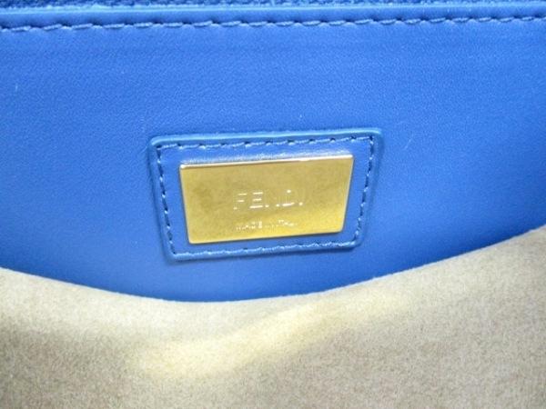 FENDI(フェンディ) ハンドバッグ美品  ピーカブー 8BN210 レザー 6