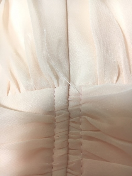 aimer(エメ) ドレス レディース ベージュ フラワー/ビーズ 8