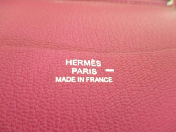HERMES(エルメス) ブックカバー アジェンダGM レッド リザード 4