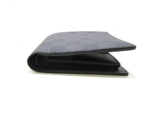 ルイヴィトン 2つ折り財布 ダミエグラフィット美品  N62664 7