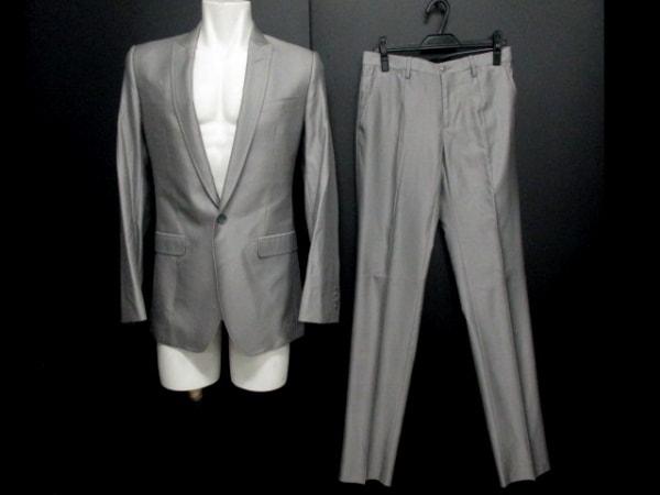 ドルチェアンドガッバーナ シングルスーツ サイズ7R メンズ美品 0