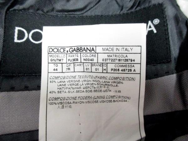 ドルチェアンドガッバーナ シングルスーツ サイズ7R メンズ美品 4