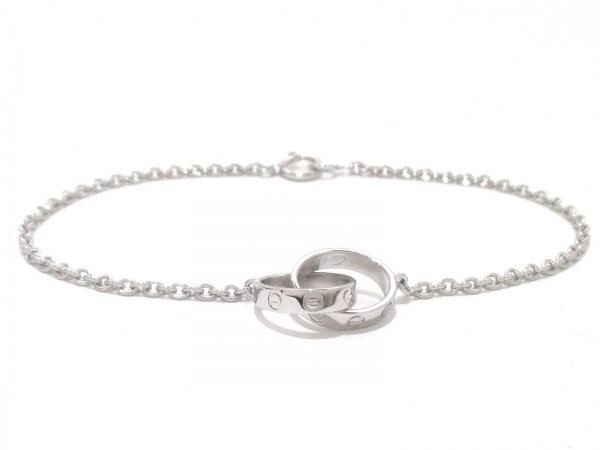 Cartier(カルティエ) ブレスレット美品  ベビーラブブレス K18WG 0