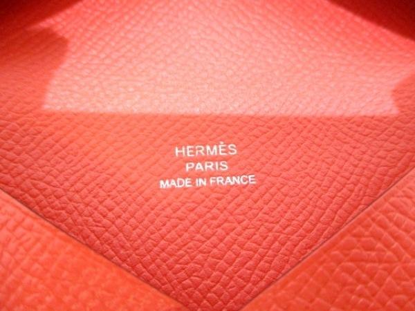 HERMES(エルメス) カードケース美品  カルヴィ ローズジャイプール 5