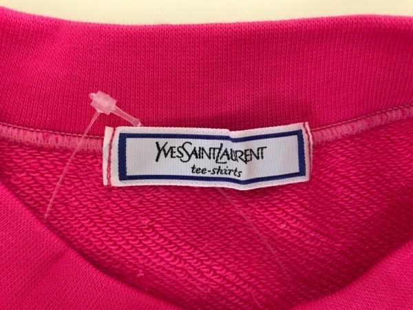 イヴサンローラン トレーナー レディース ピンク tee-shirts 3