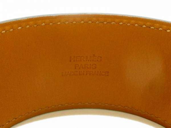 HERMES(エルメス) ブレスレット美品  ケリードッグ レザー×金属素材 6