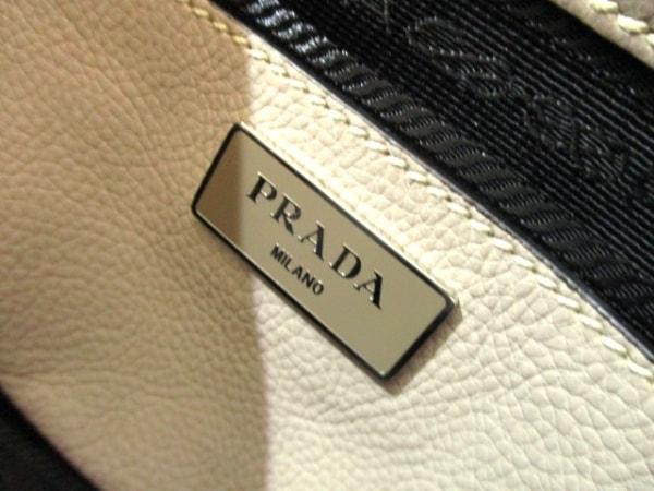PRADA(プラダ) ハンドバッグ美品  - BN2619 グレージュ レザー 6