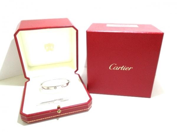 Cartier(カルティエ) バングル 17新品同様  ラブブレス K18WG 旧型 6