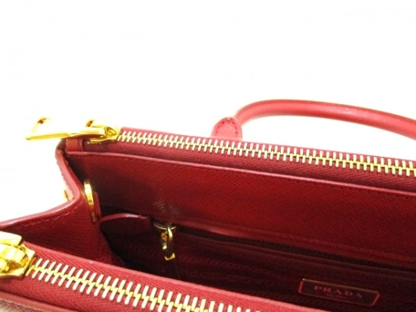 PRADA(プラダ) ハンドバッグ美品  - BN2316 レッド 8
