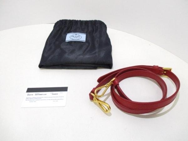 PRADA(プラダ) ハンドバッグ美品  - BN2316 レッド 9