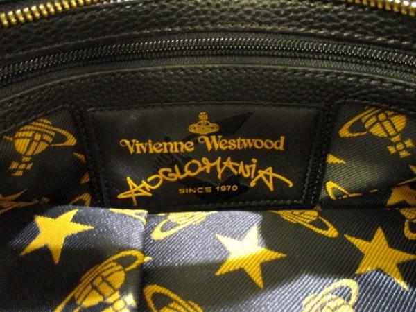 ヴィヴィアンウエストウッドアングロマニア ハンドバッグ美品  黒 6