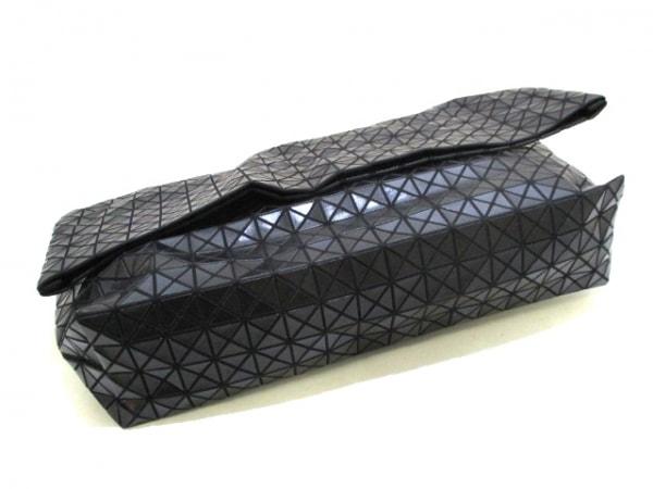 バオバオイッセイミヤケ バッグ美品  黒 ポリウレタン×コットン 4