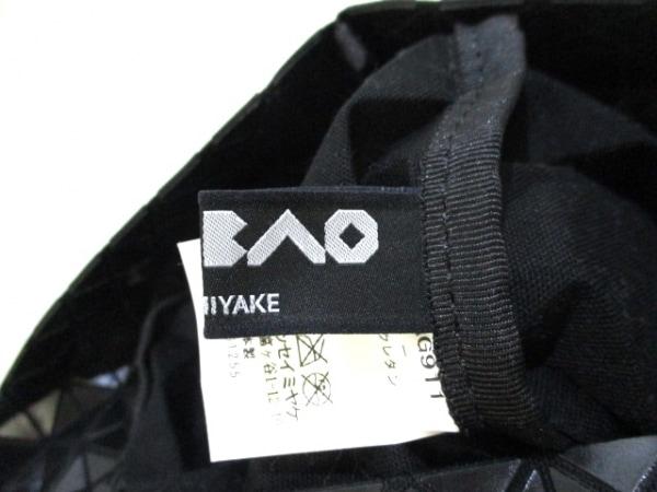 バオバオイッセイミヤケ バッグ美品  黒 ポリウレタン×コットン 7