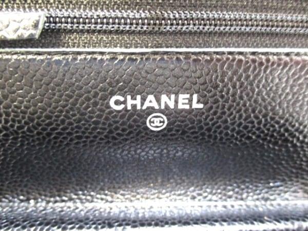 CHANEL(シャネル) 財布美品  マトラッセ A33814 黒 キャビアスキン 4