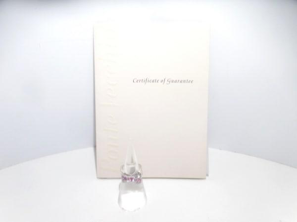 PonteVecchio(ポンテヴェキオ) リング 8美品  ピンク 7