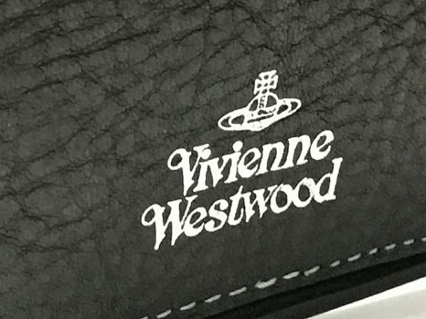 ヴィヴィアンウエストウッド 手帳 黒×グレー×ライトグレー 豹柄 4