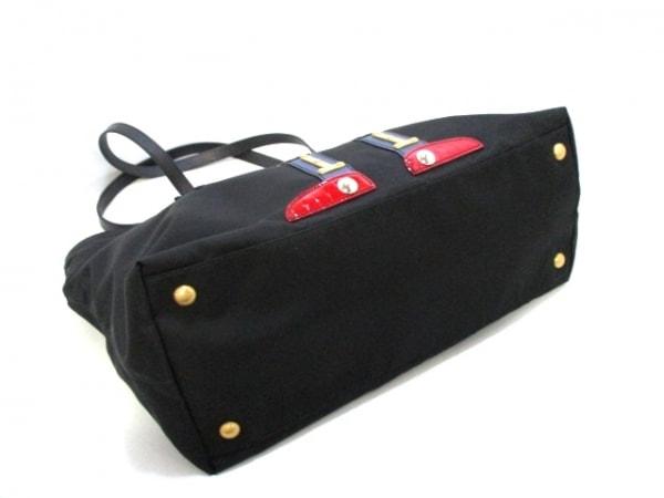 プラダ ショルダーバッグ美品  - 1BG052 黒×イエロー×マルチ 4