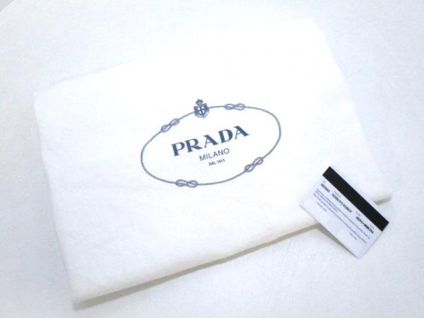プラダ ショルダーバッグ美品  - 1BG052 黒×イエロー×マルチ 8