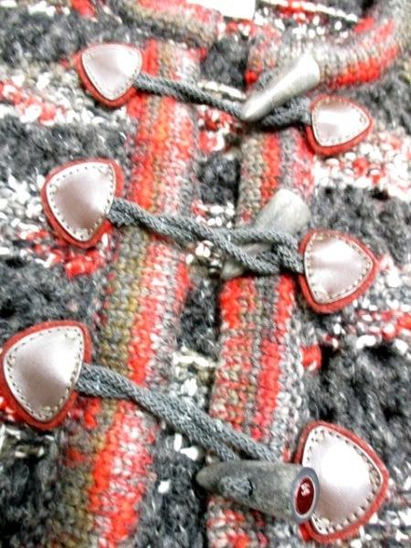 シャネル カーディガン サイズ38 M レディース美品  トグルボタン 6