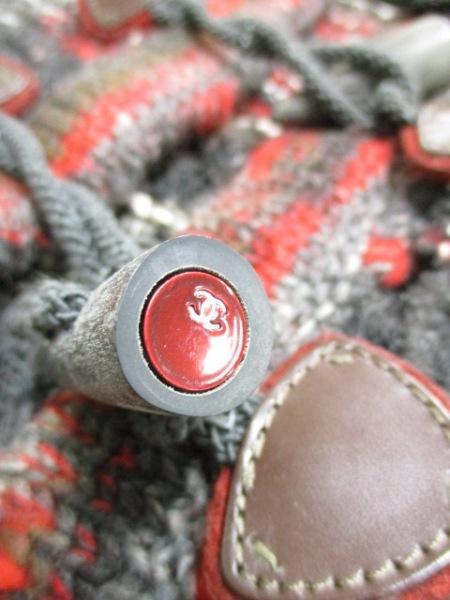 シャネル カーディガン サイズ38 M レディース美品  トグルボタン 7