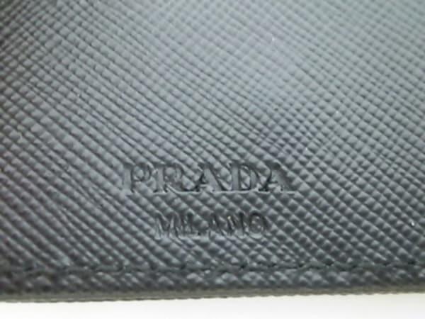 PRADA(プラダ) キーケース美品  - M222 黒 6連フック ナイロン 5