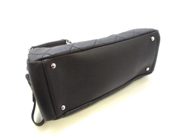 CHANEL(シャネル) トートバッグ美品  マトラッセ A50277 黒 4
