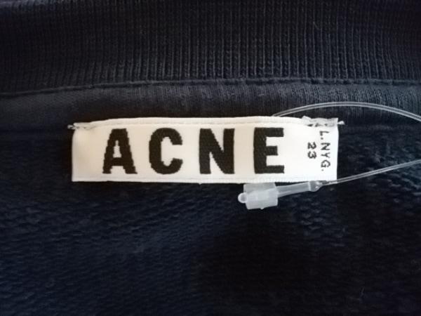 Acne(アクネ) トレーナー サイズXS レディース美品  ダークグレー 3